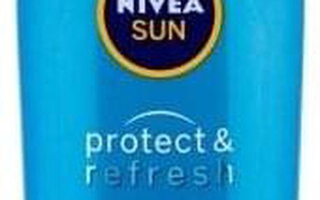 Nivea Sun Protect & Refresh Sun Lotion SPF30 200 ml osvěžující voděodolné mléko na opalování unisex