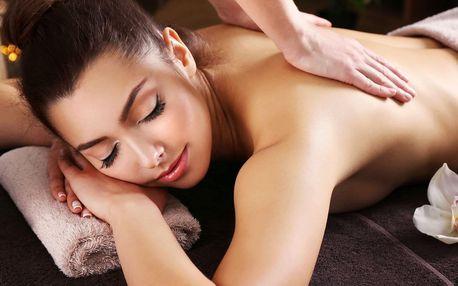 110 minut relaxace: Výběr ze 4 masáží