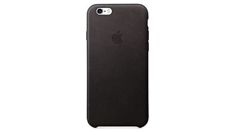 Apple Leather Case pro iPhone 6/6s černý (MKXW2ZM/A)