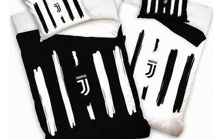 BedTex Bavlněné povlečení FC Juventus Cinque, 140 x 200 cm, 70 x 90 cm