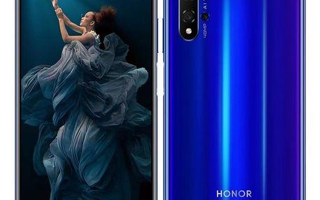 Mobilní telefon Honor 20 Dual SIM modrý (51093VCP)