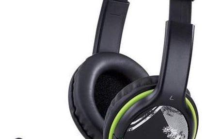 Genius HS-400A černý/zelený (31710169100)