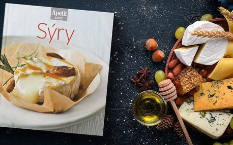 Kuchařka z edice Apetit zaměřená na sýry