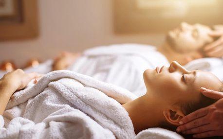 Partnerská masáž dle výběru a sklenka sektu