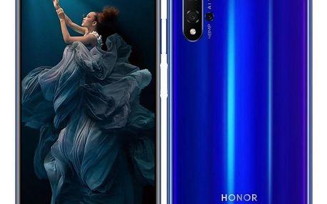 Honor 20 Dual SIM modrý (51093VCP)
