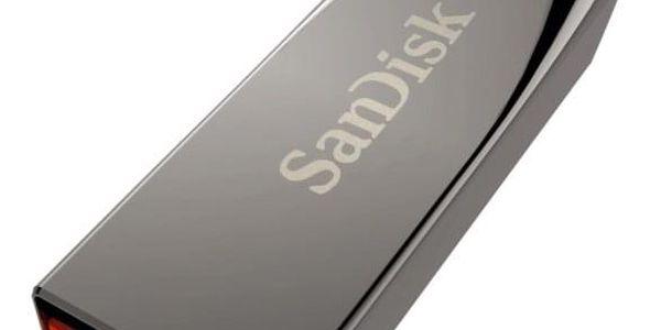 USB Flash Sandisk Cruzer Forcer 64 GB kovový (SDCZ71-064G-B35)