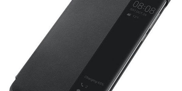 Pouzdro na mobil flipové Huawei View Cover pro P30 Lite černé (51993076)2