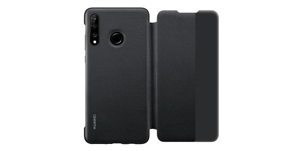 Pouzdro na mobil flipové Huawei View Cover pro P30 Lite černé (51993076)4