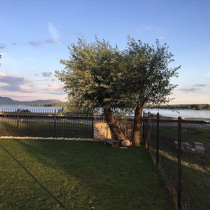 Pasohlávky: Ubytování Tři Vrby nedaleko vodní nádrže Nové Mlýny