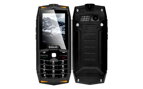 Mobilní telefon Evolveo Strongphone Z3 Dual SIM černý (SGP-Z3-B)