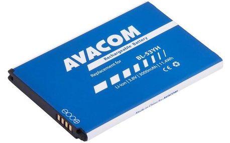 Avacom pro LG D855 G3 Li-Ion 3,8V 3000mAh (náhrada BL-53YH) (GSLG-D855-3000)