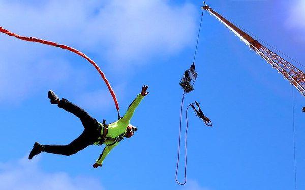 Bungee jumping nebo katapult od 36 do 110 metrů