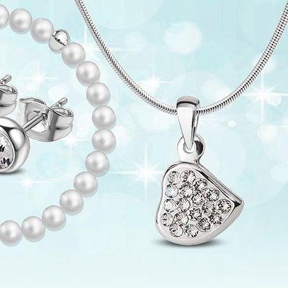 Ozdobte se: ocelové šperky s krystaly Swarovski