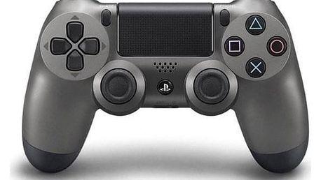 Sony Dual Shock 4 pro PS4 v2 - metalicky černá (PS719868262)