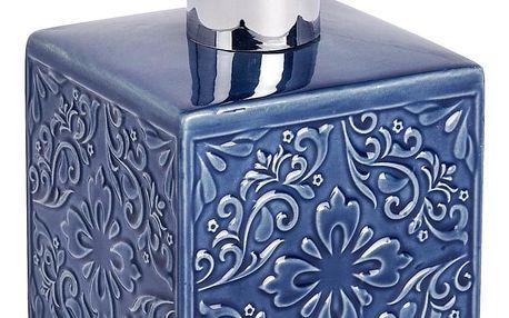 Dávkovač na mýdlo CORDOBA DARK BLUE - 500 ml, WENKO