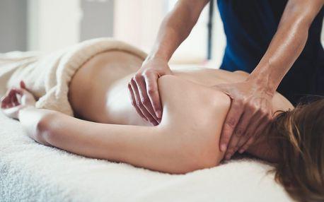 Zdravotní, hloubková či relaxační masáž: 60/75 min