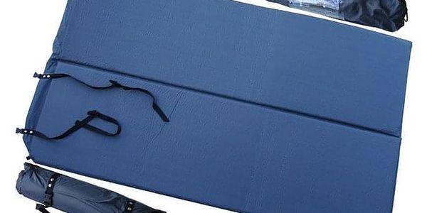 CorbySport 5236 Samonafukovací karimatka rozkládací pro 2 os 2,5cm.