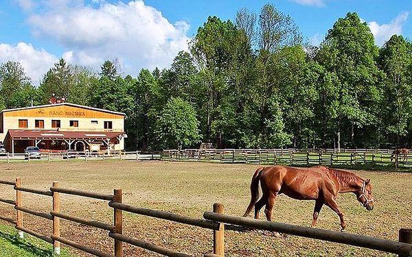 Pobyt s prohlídkou ranče a privátním wellness   2 osoby   3 dny (2 noci)3