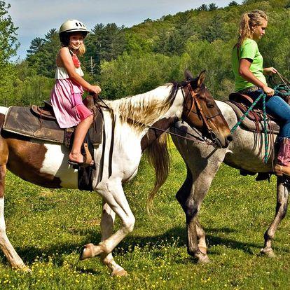 Léto u koní: týdenní dětský tábor v Beskydech