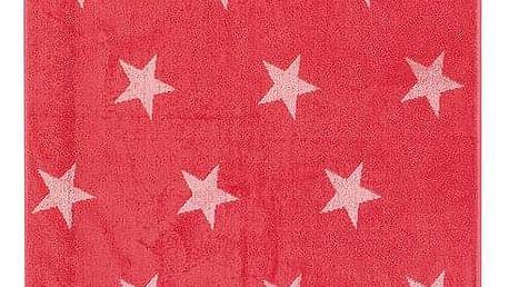 JAHU Osuška Stars růžová, 70 x 140 cm