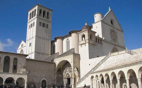 Středověká Umbrie, Toskánsko - Chianti a italská Adriatická riviéra