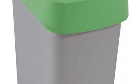 CURVER FLIPBIN 31353 Odpadkový koš 25l - zelená