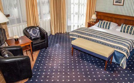 Mariánské Lázně v hotelu Morris**** s plnou penzí a wellness