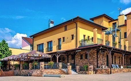 Slovácko: Pobyt v Hotelu Lidový dům *** ve Bzenci s polopenzí a nedaleko zámku