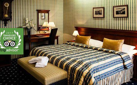 Golf Hotel Morris**** v Mariánských lázních s procedurami a polopenzí