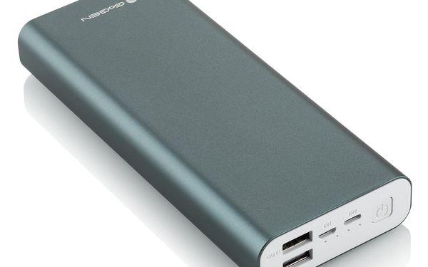 Powerbank GoGEN 20000 mAh, Lightning (PB200004GR) šedá3