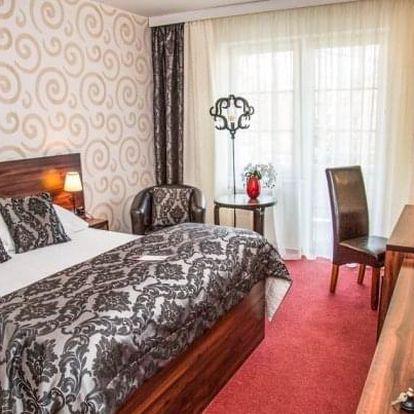 Hotel Morris **** v Novém Boru se spoustou procedur, wellness a polopenzí