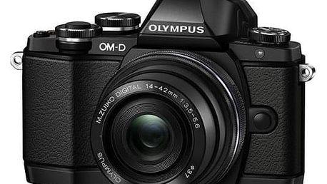 Digitální fotoaparát Olympus E-M10 Mark II + 14-42 II černý
