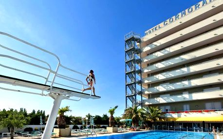 4–10denní Itálie, Emilia Romagna | Hotel Cormoran**** 30 m od pláže | Bazén, klimatizace zdarma | All inclusive