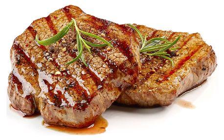 3chodové steakové menu pro 1 nebo 2 osoby v Golemově restaurantu