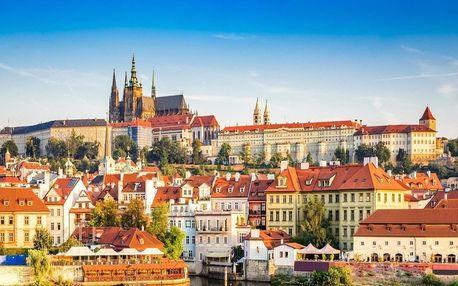 Léto a podzim v hotelu Golden Golem v Praze se snídaní a poukazem na večeři