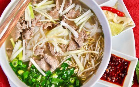 Phở bo nebo bún bò nam bộ pro 1 či 2 osoby