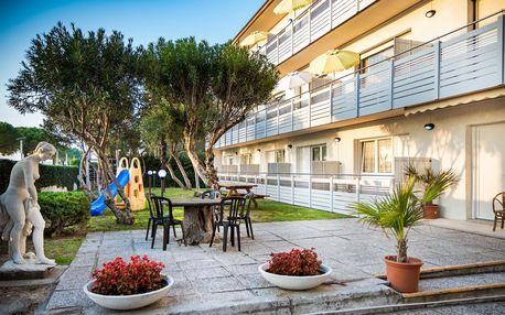 8–10denní Itálie, Lignano | Villa Yachting*** – termíny mimo hl. sezónu | Dětské hřiště | Strava vlastní | Autobusem