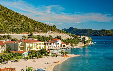 8–10denní Chorvatsko, Klek   Hotel Plaža a depandance hotelu Plaža*** přímo u pláže   Dítě zdarma   Polopenze, autobusem nebo vlastní doprava