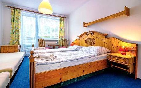 Šumava v Hotelu Kolibřík s polopenzí a neomezeným bazénem blízko Čertova jezera