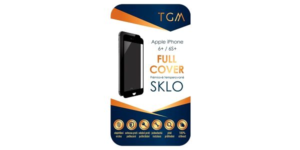 TGM Full Cover pro Apple iPhone 6/ 6S černé (TGMAPIP6BK)