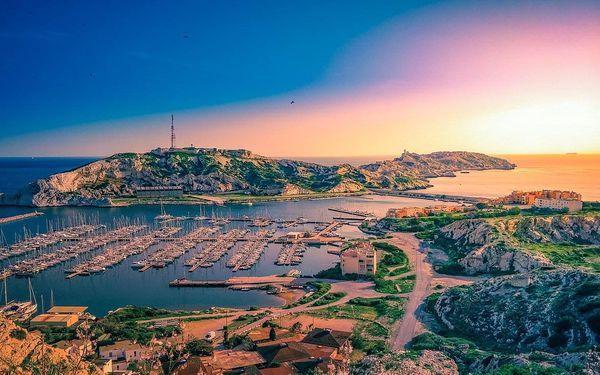 Marseille, Avignon, Provence s koupáním   2 noci se snídaní   5denní poznávací zájezd do Francie