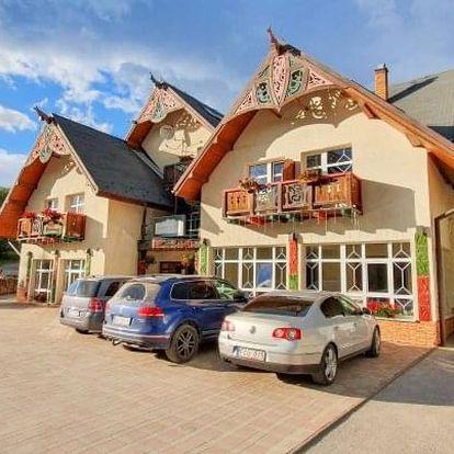 Vysoké Tatry v Penzionu Lomnicky s polopenzí a vstupem do wellness s vířivkou