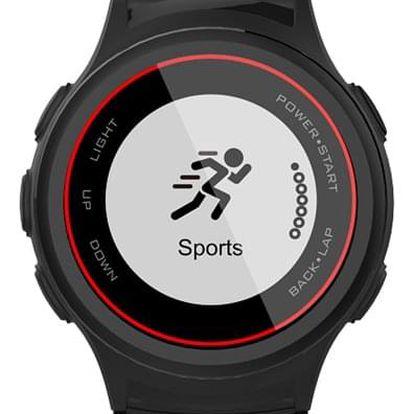 Chytré hodinky iGET ACTIVE A4 černý (84000432)