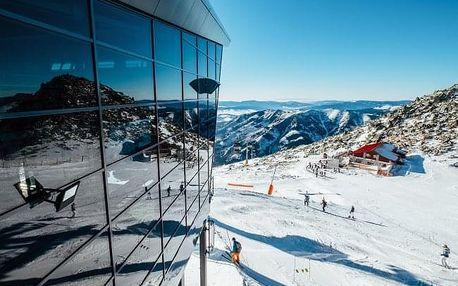 Nízké Tatry blízko skiareálů ve Vile Vista se snídaní, saunou a finskou kádí