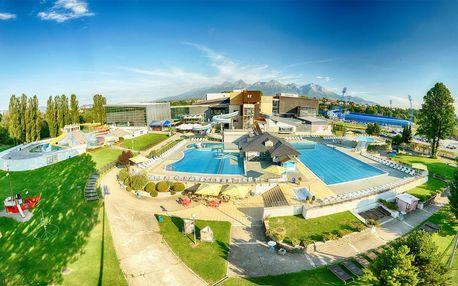Relax v Slovenském ráji se vstupem do AquaCity Poprad