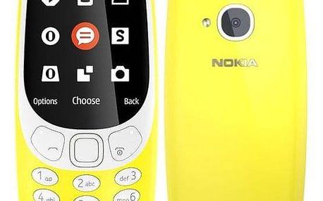 Mobilní telefon Nokia 3310 (2017) Dual SIM žlutý (A00028674)