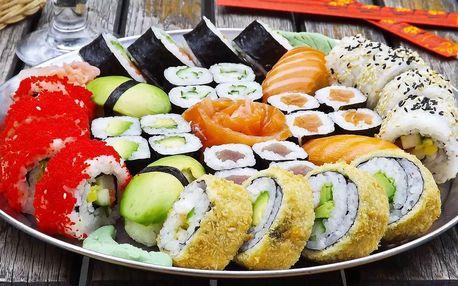Sushi sety s sebou: 24 až 81 kousků z Asian House Vršovice