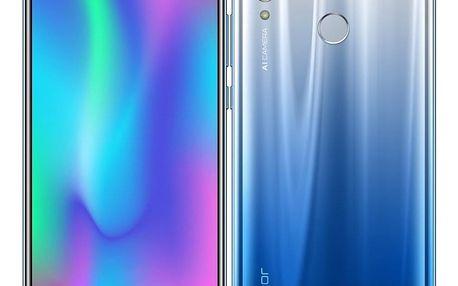Mobilní telefon Honor 10 Lite (51093WLF) stříbrný/modrý