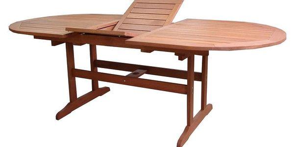 Tradgard AWARD 54634 Zahradní stůl rozkládací dřevěný - 175 - 220 cm2