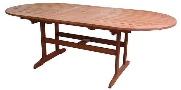 Tradgard AWARD 54634 Zahradní stůl rozkládací dřevěný - 175 - 220 cm
